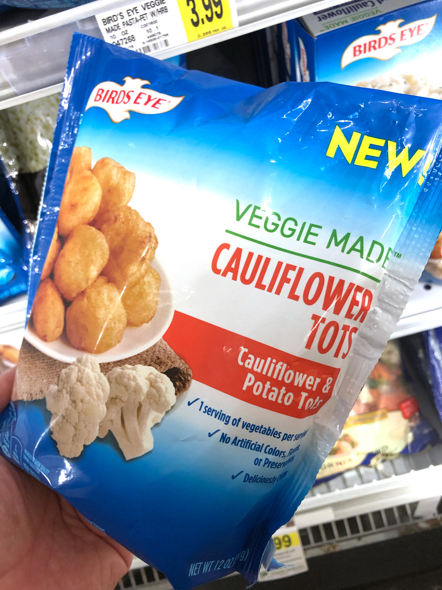 Birdseye's new cauliflower tots are super yummy