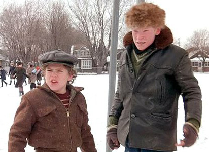 Grover Dill & Scut Farkus from 'A Christmas Story'