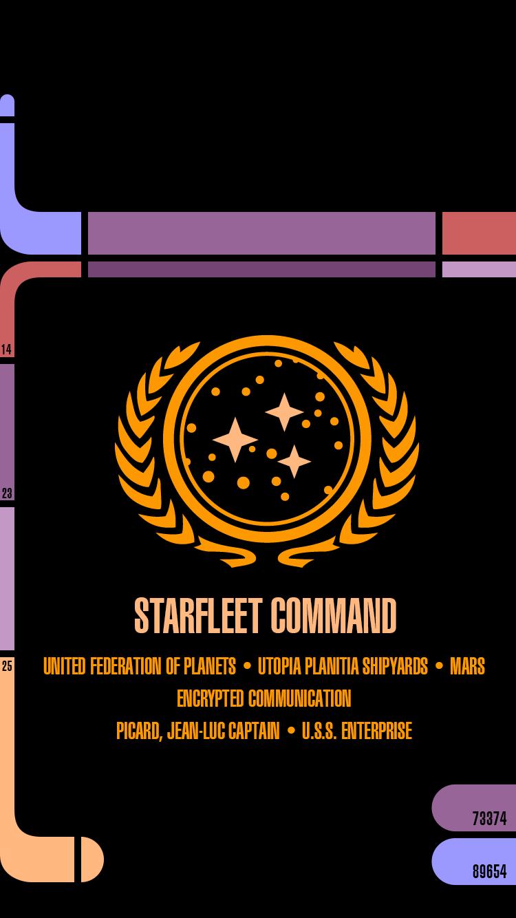 Star Trek: Next Gen Wallpapers for iPhone 6 | gedblog