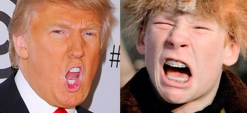 Donald Trump and Scut Farkus